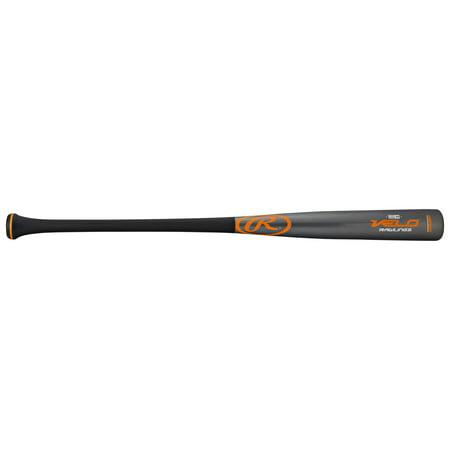 - Rawlings Velo Composite Pro Wood Baseball Bat, 32 inch length, Handle: 15/16