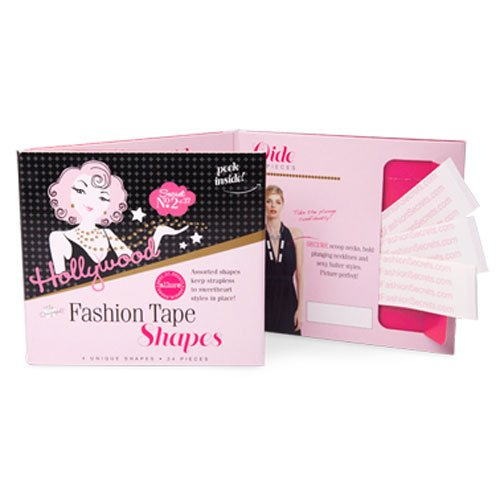 Hollywood Fasion Tape Shapes 24 Pieces