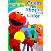 Sesame Street PBS Kids: Sesame Street: Guess That Color & Shape (Other) by WARNER HOME VIDEO