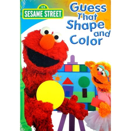 Sesame Street PBS Kids: Sesame Street: Guess That Color & Shape (Other)