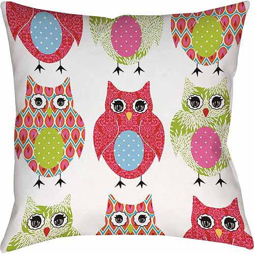 IDG Owls Indoor Pillow
