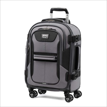 Travelpro Bold  Expandable Spinner Luggage Gray/Black