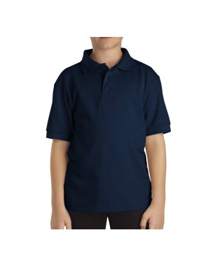 Genuine Dickies Boys School Uniform Short Sleeve Pique Polo (Little Boys)