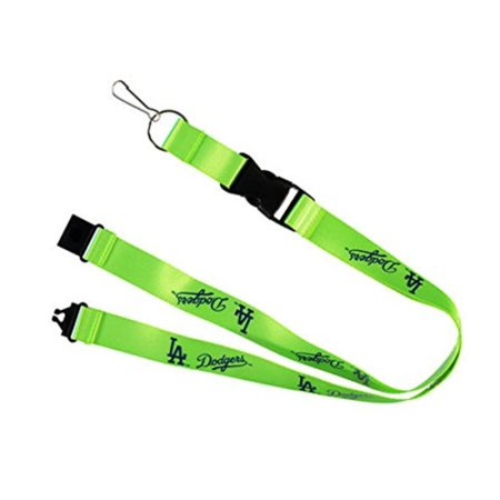 Los Angeles Neon Green Breakaway Lanyard Key Chain, Officially licensed By aminco