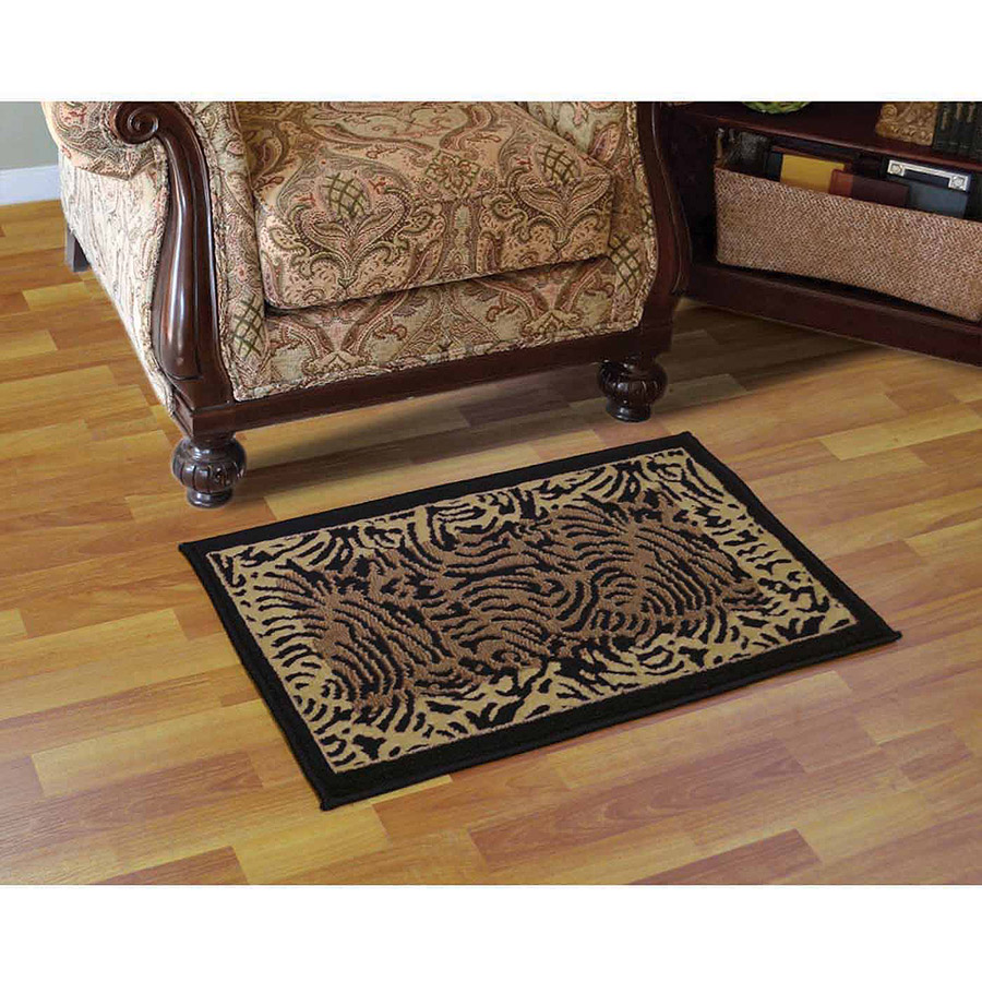 Home Dynamix Catalina Collection Black Area Rug