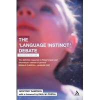 The 'language Instinct' Debate : Revised Edition