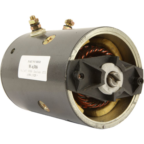 DB Electrical LPL0059 Snow Plow Motor For Fisher Western 12 Volt CW /Mue6302 /