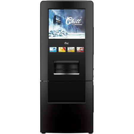Hisense CHILL Vending Machine Refrigerator, Black