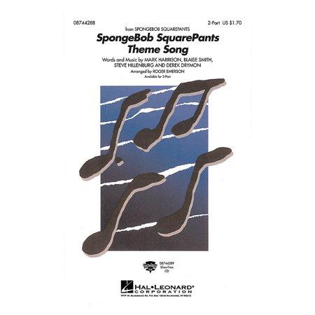Hal Leonard SpongeBob SquarePants (Theme Song) ShowTrax CD Arranged by Roger Emerson (Spongebob Themes)