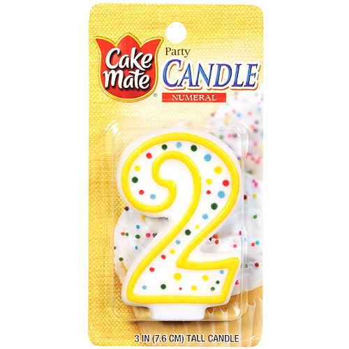 Signature Brands Cake Mate  Numeral Candle, 1 ea