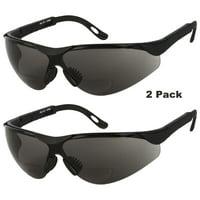 0b9b0bb9b1525 Product Image 2 PAIR LOT Bifocal Safety Reading Sunglasses Glasses Reader  ANSI Z87.1 Men Women