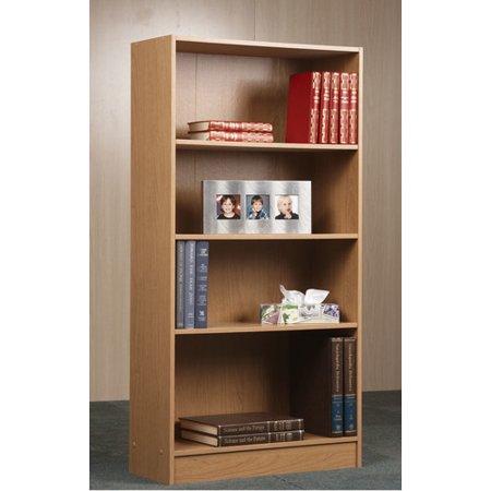 Orion 4-Shelf Bookcase, Multiple Finishes