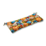 Roma Floral 44 x 17 in. Outdoor Swing/Bench Cushion