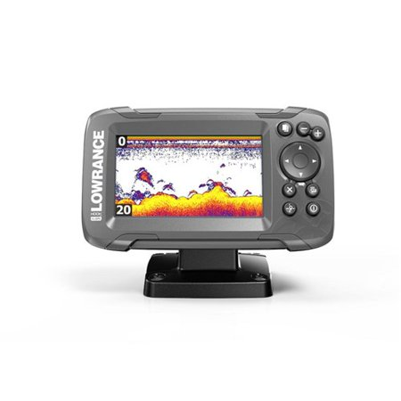 Lowrance 000-14179-001 Hook2-4X Fishfinder w/ SolarMAX 4 Display &