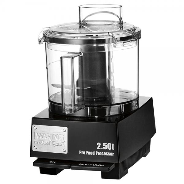 Waring Commercial WFP11SW Sealed Space-Saving Batch Bowl Food Processor with LiquiLock
