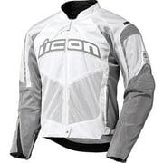 Icon Contra Mens Textile Jacket White