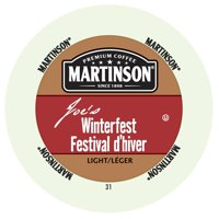 Martinson Coffee Winterfest, RealCup portion pack for Keurig K-Cup Brewers, 96 Count