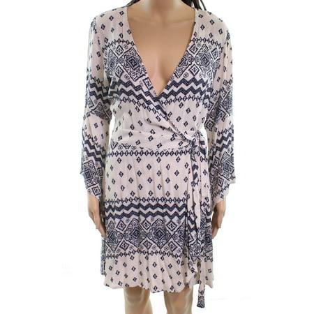 Vintage Havana NEW Beige Women's Size Small S Wraped Sheath Dress