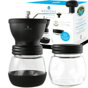 Best Manual Coffee Grinders - GROSCHE Bremen Manual Coffee Grinder, twin Conical burr Review