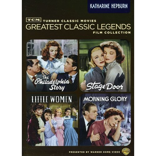 TCM GREATEST CLASSIC FILMS-LEGENDS-KATHARINE HEPBURN (DVD/4FE/DISC)