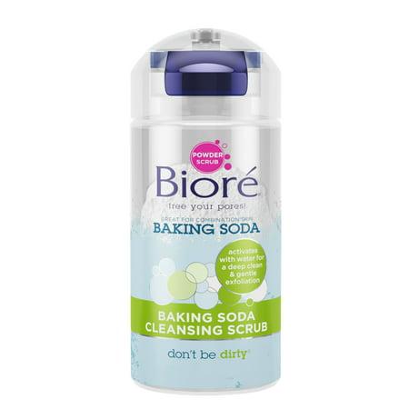 Biore Baking Soda Powder Cleanser, 4.5 Oz