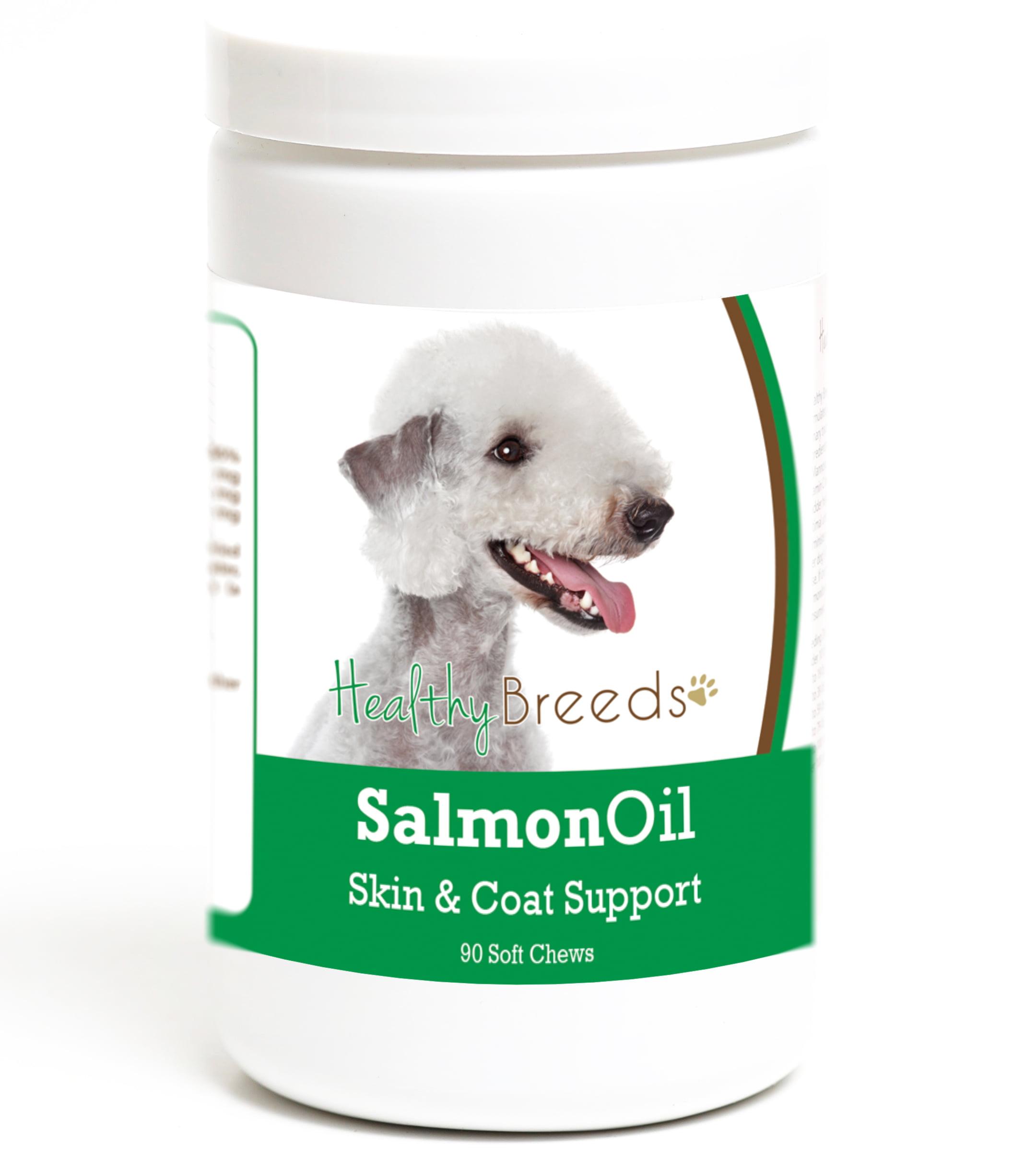 Healthy Breeds Bedlington Terrier Salmon Oil Soft Chews 90 Count