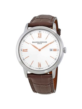 Baume & Mercier Classima Silver Dial 42mm Mens Watch 10415