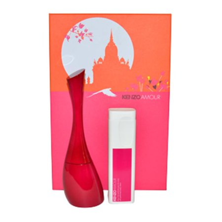Kenzo 2510 KenzoAmour by Kenzo for Women - 2 Pc Gift Set 1.7oz EDP Spray  3.4oz Perfumed Body Milk