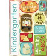 Cardstock Stickers-Kindergarten