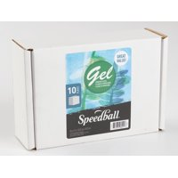 Speedball Gel Printing Plates, 5in x 7in, 10 Plates/Pkg.