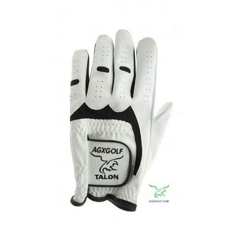 Six Pack!! Sure Grip Men's Left Hand Cabretta Leather Golf Gloves Size Cadet Medium for Men Who Golf Right Handed (Intech