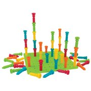 Tall-stacker Pegs & Pegboard Set-