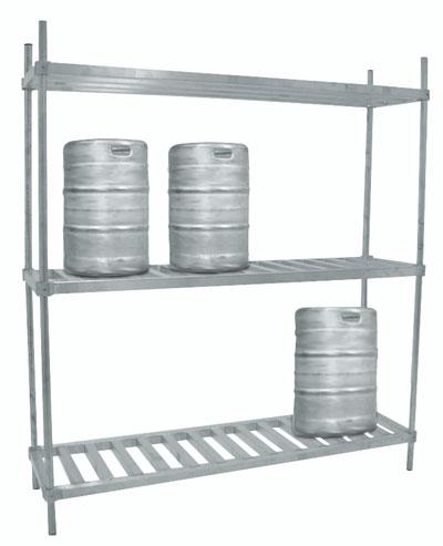 Advance Tabco 20 Aluminum Keg Rack Model KR-42 by