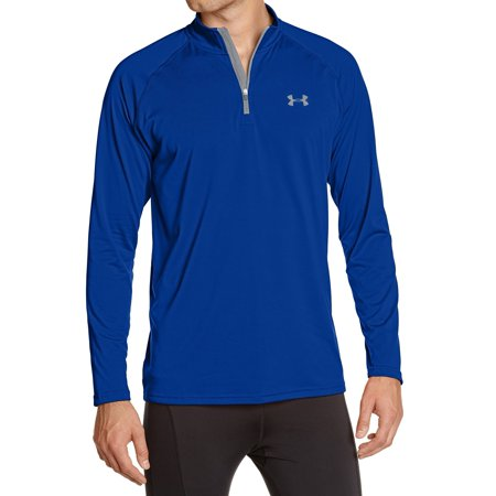 Under Armour NEW Blue Mens Size Large L Pullover Half-Zip (Under Armour Mens Qualifier 1 4 Zip)