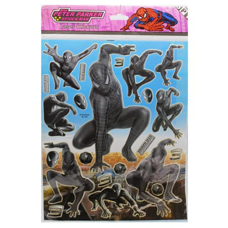 Marvel's Spider-Man 3 Spider-Man Symbiote Costume Stickers (22 - Spider Man 3 Costume