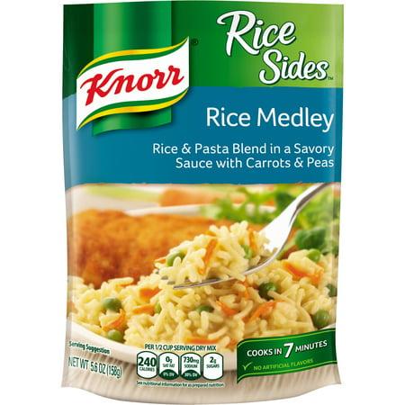 Knorr Side Dishes: Rice Medley Sides, 5.6 Oz