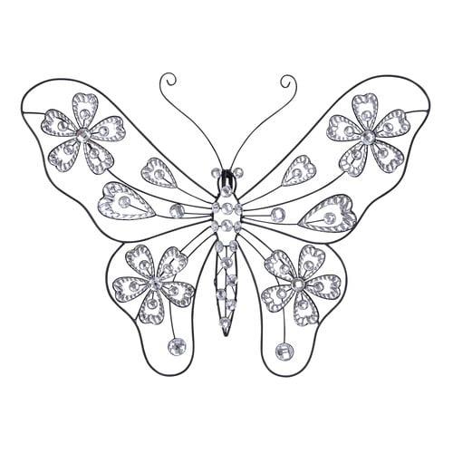 Creative Metal Acrylic Butterfly