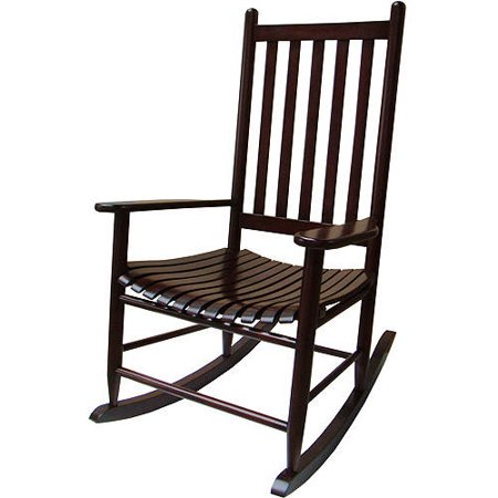 mainstays outdoor wood rocking chair. Black Bedroom Furniture Sets. Home Design Ideas