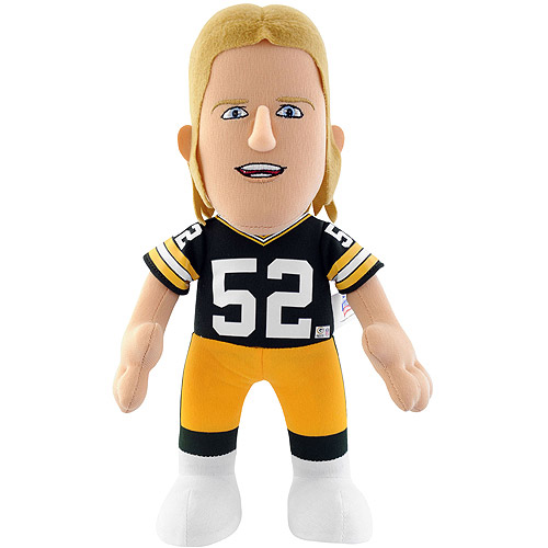 "NFL Player 10"" Plush Doll Green Bay Packers, Clay Matthews"