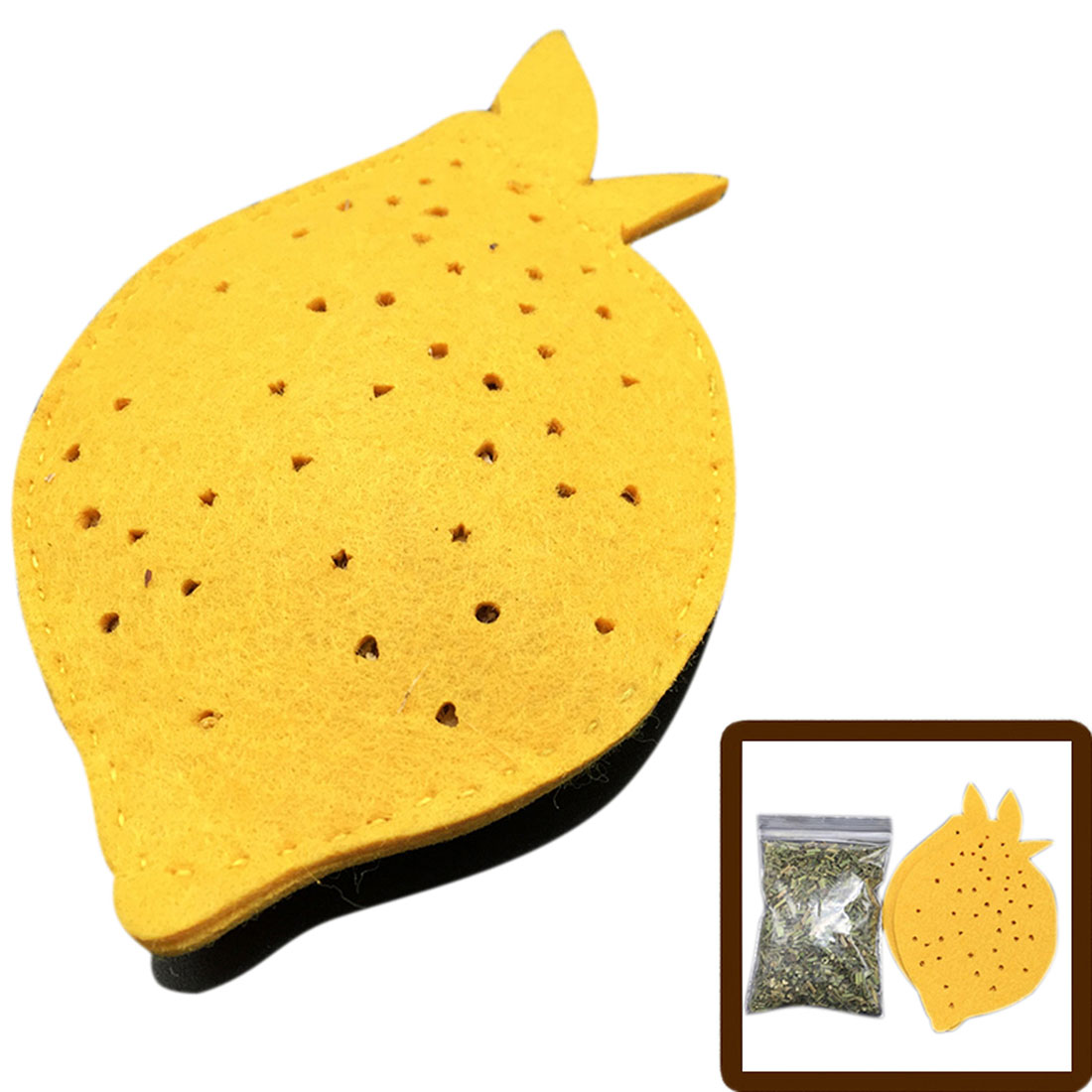 KOTA PET Authorized DIY Lemon Pie Designed Silvervine Powder Catnip Cat Toys by Unique Bargins
