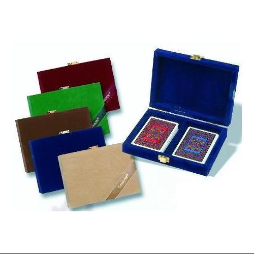 Double Deck in Velour Case-Color:Blue,Style:Tommy