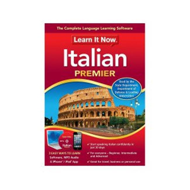 Learn It Now Italian, Mac (Email Delivery)