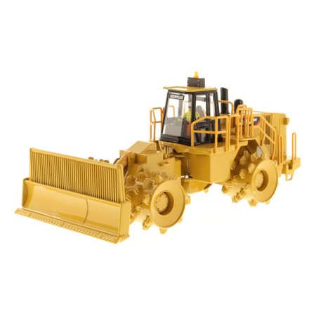 "CAT Caterpillar 836H Landfill Compactor with Operator ""Core Classic Series"" 1/50 Diecast Model by Diecast Masters"