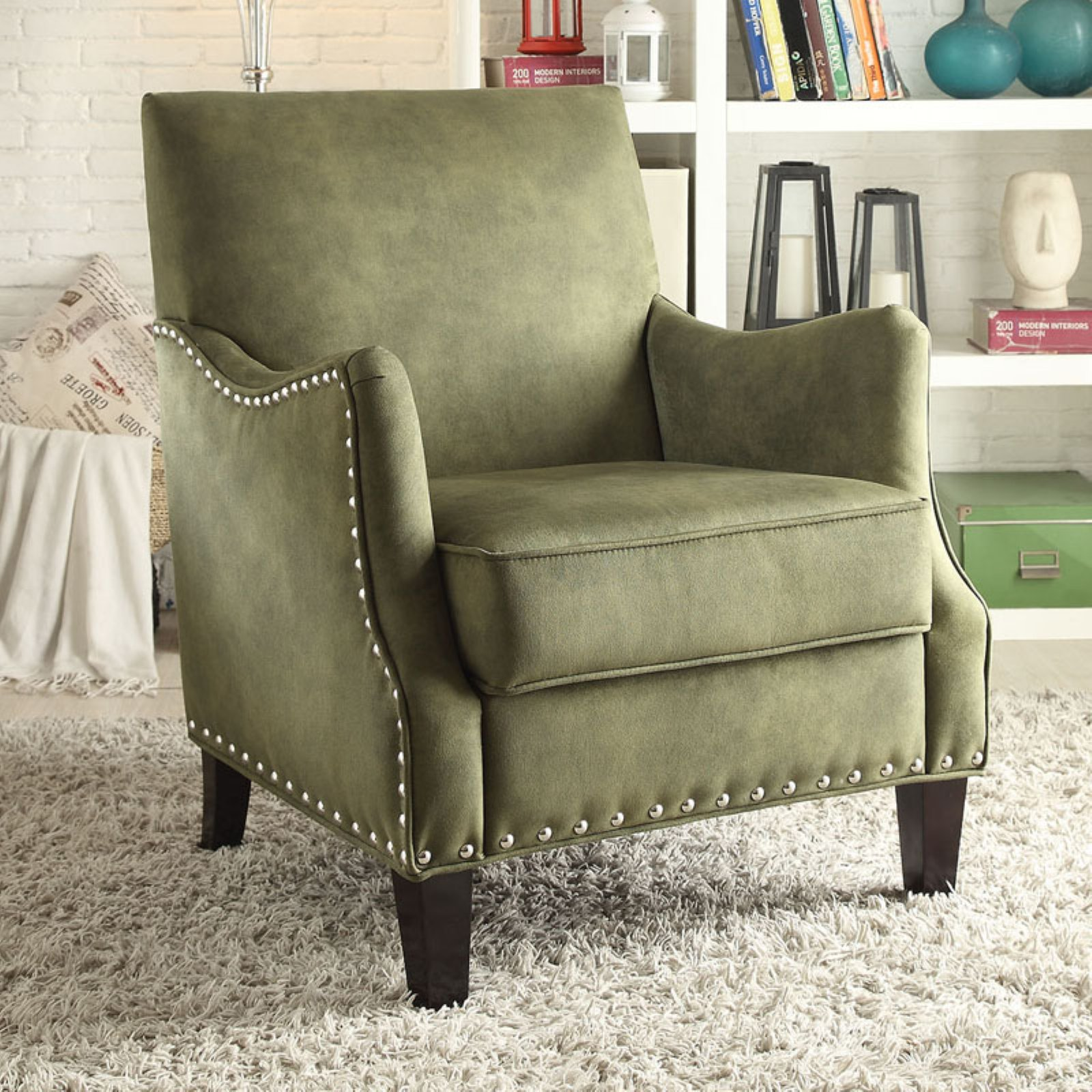 ACME Sinai Naihead Club Chair, Multiple Colors