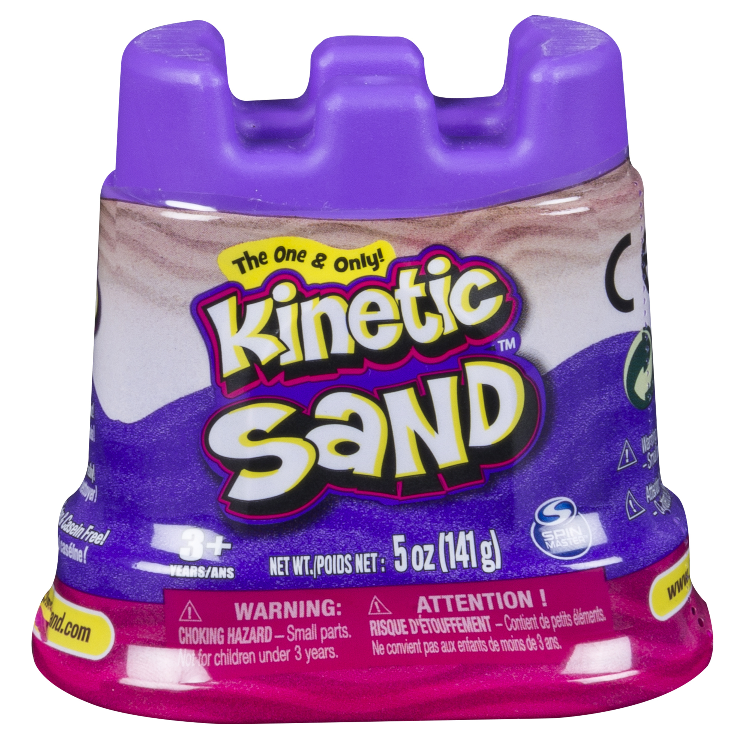 The One & Only Kinetic Sand 5 oz Single Container, Pink