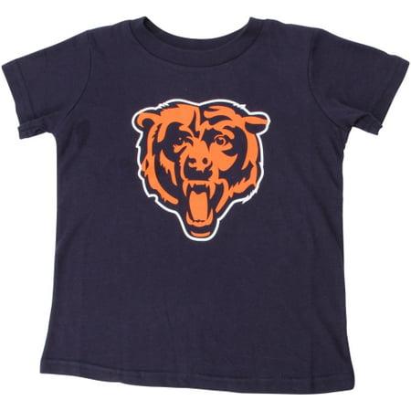 Chicago Bears Toddler Team Logo T-Shirt - Navy