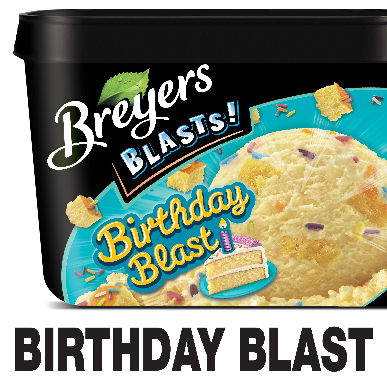 Breyers Blasts Birthday Blast Frozen Dairy Dessert, 48 oz