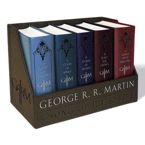A Game of Thrones: A Game of Thrones / A Clash of Kings / A Storm of Swords / A Feast for Crows / A Dance With Dragons