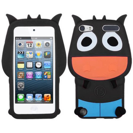 Apple iPod touch 5 MyBat Pastel Skin Case, Black Cow ()