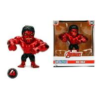 Metalfigs 4 Inch Red Hulk Die Cast Figure by Jada Toys